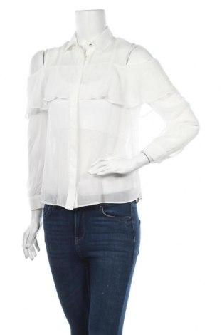 Дамска риза Miss Selfridge, Размер M, Цвят Бял, Полиестер, Цена 34,50лв.