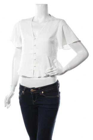 Дамска риза Topshop, Размер S, Цвят Бял, Полиестер, Цена 27,72лв.