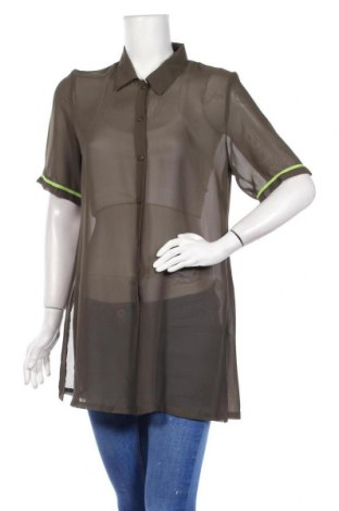 Дамска риза Triumph, Размер M, Цвят Зелен, Полиестер, Цена 9,31лв.