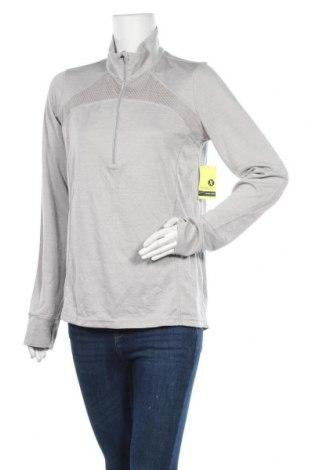 Дамска спортна блуза Xersion, Размер L, Цвят Сив, Полиестер, Цена 54,60лв.