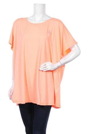 Γυναικεία αθλητική μπλούζα Zizzi, Μέγεθος 4XL, Χρώμα Πορτοκαλί, 88% πολυεστέρας, 12% ελαστάνη, Τιμή 11,04€
