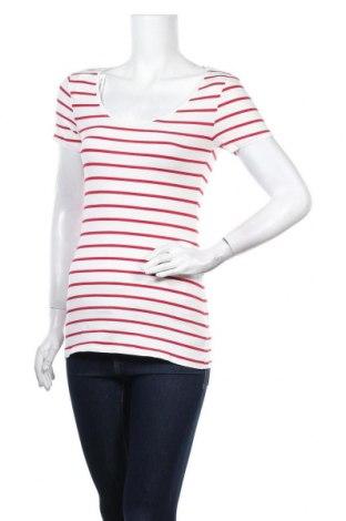 Дамска тениска, Размер S, Цвят Бял, 95% памук, 5% еластан, Цена 15,12лв.