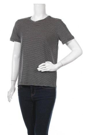 Дамска тениска Aware by Vero Moda, Размер M, Цвят Черен, 95% лиосел, 5% еластан, Цена 21,42лв.