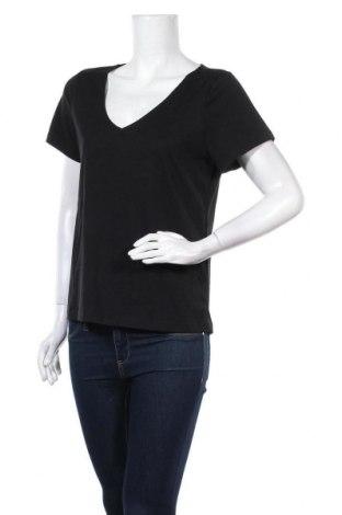 Дамска тениска Even&Odd, Размер M, Цвят Черен, Памук, Цена 18,98лв.