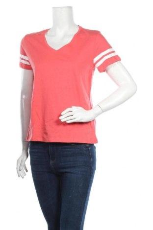Дамска тениска Even&Odd, Размер S, Цвят Розов, Памук, Цена 18,27лв.
