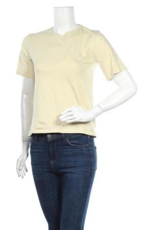 Γυναικείο t-shirt Filippa K, Μέγεθος S, Χρώμα Κίτρινο, Βαμβάκι, Τιμή 23,97€