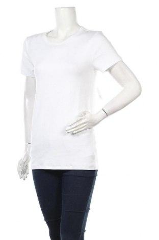 Дамска тениска Gap, Размер L, Цвят Бял, 58% памук, 39% модал, 3% еластан, Цена 29,64лв.