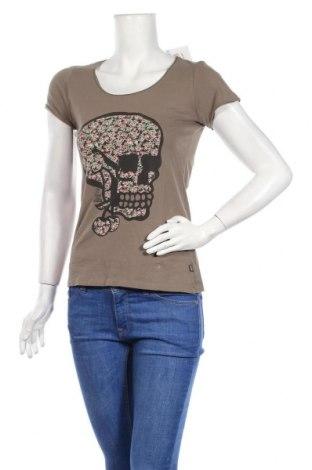 Дамска тениска Le Temps Des Cerises, Размер S, Цвят Кафяв, Памук, Цена 19,20лв.