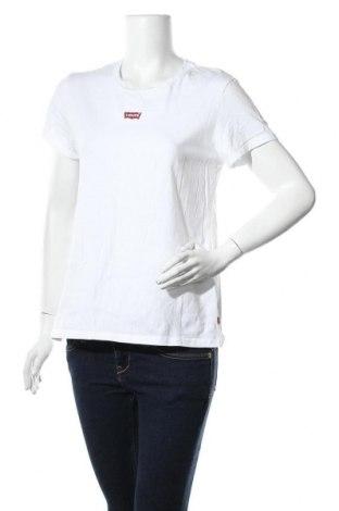 Дамска тениска Levi's, Размер L, Цвят Бял, Памук, Цена 59,00лв.