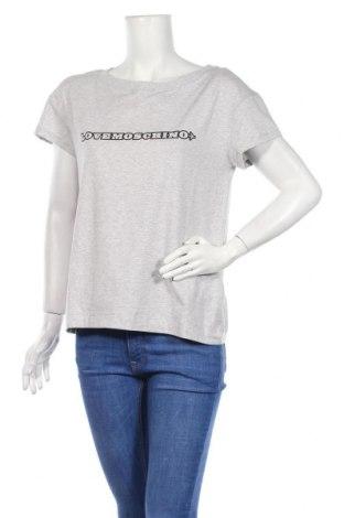 Γυναικείο t-shirt Love Moschino, Μέγεθος M, Χρώμα Γκρί, 93% βαμβάκι, 7% ελαστάνη, Τιμή 56,06€