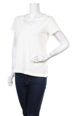 Γυναικείο t-shirt MOS MOSH, Μέγεθος L, Χρώμα Εκρού, Βαμβάκι, Τιμή 24,93€