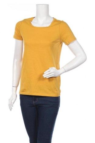 Γυναικείο t-shirt Next, Μέγεθος XS, Χρώμα Κίτρινο, Βαμβάκι, Τιμή 6,70€