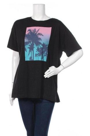 Дамска тениска Twintip, Размер XL, Цвят Черен, Памук, Цена 34,00лв.