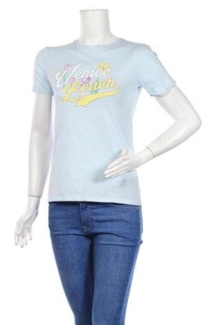 Γυναικείο t-shirt Twintip, Μέγεθος S, Χρώμα Μπλέ, Βαμβάκι, Τιμή 7,09€
