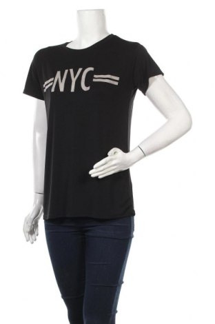 Γυναικείο t-shirt Zara Trafaluc, Μέγεθος S, Χρώμα Μαύρο, Τιμή 6,73€