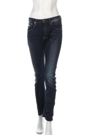Дамски дънки G-Star Raw, Размер L, Цвят Син, 99% памук, 1% еластан, Цена 64,48лв.