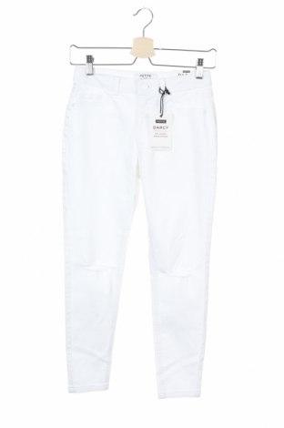 Γυναικείο Τζίν Dorothy Perkins, Μέγεθος XS, Χρώμα Λευκό, 98% βαμβάκι, 2% ελαστάνη, Τιμή 20,13€