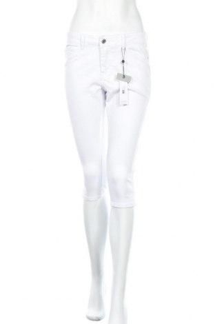 Дамски дънки Vero Moda, Размер S, Цвят Бял, 63% памук, 35% полиестер, 2% еластан, Цена 17,25лв.