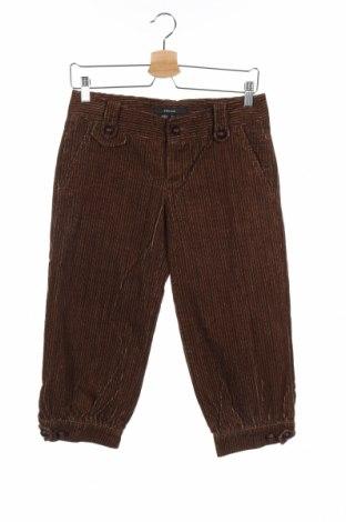 Дамски джинси Zara, Размер S, Цвят Кафяв, Памук, Цена 6,51лв.