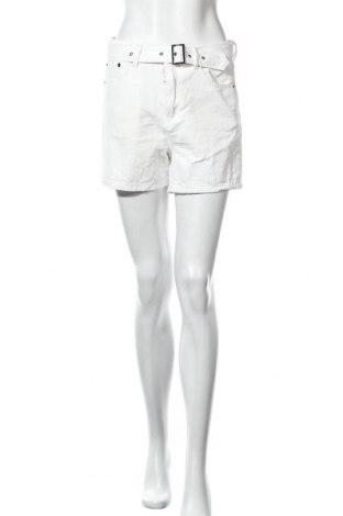 Γυναικείο κοντό παντελόνι Nasty Gal, Μέγεθος M, Χρώμα Λευκό, Βαμβάκι, Τιμή 7,09€