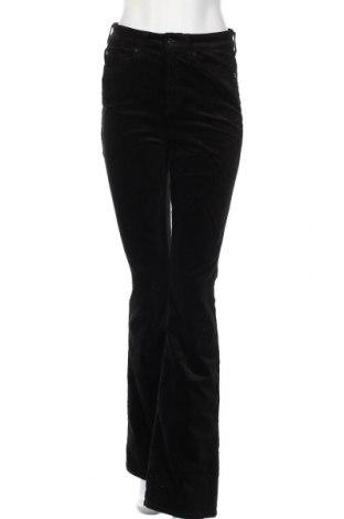 Дамски панталон 7 For All Mankind, Размер M, Цвят Черен, 54% памук, 35% модал, 8% полиестер, 3% полиуретан, Цена 69,66лв.