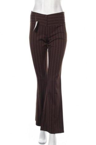 Дамски панталон Anima Bella, Размер S, Цвят Кафяв, Вискоза, Цена 12,86лв.