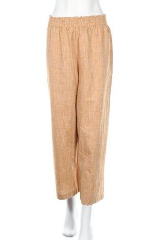 Γυναικείο παντελόνι Cream, Μέγεθος XL, Χρώμα Πορτοκαλί, 68% βισκόζη, 32% πολυεστέρας, Τιμή 25,34€