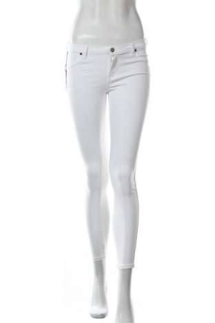 Дамски панталон Dr. Denim, Размер M, Цвят Бял, 65% памук, 30% полиестер, 5% еластан, Цена 26,66лв.
