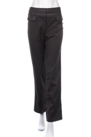 Дамски панталон Hot Options, Размер M, Цвят Сив, Полиестер, вискоза, еластан, Цена 12,16лв.