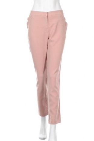 Γυναικείο παντελόνι Kiomi, Μέγεθος L, Χρώμα Ρόζ , 88% πολυεστέρας, 12% ελαστάνη, Τιμή 15,30€
