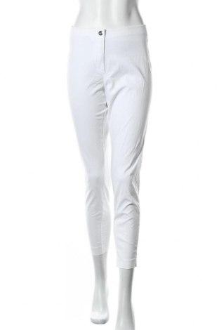 Γυναικείο παντελόνι Laurel, Μέγεθος L, Χρώμα Λευκό, 65% βαμβάκι, 31% βισκόζη, 4% ελαστάνη, Τιμή 21,50€