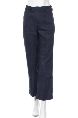Дамски панталон Le Phare De La Baleine, Размер S, Цвят Син, 48% полиестер, 26% тенсел, 16% вискоза, 8% полиамид, 2% еластан, Цена 37,38лв.