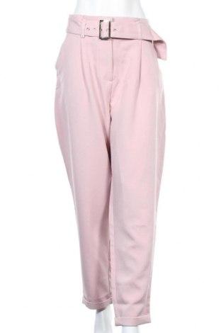 Дамски панталон Lost Ink, Размер XL, Цвят Розов, 96% полиестер, 4% еластан, Цена 52,56лв.