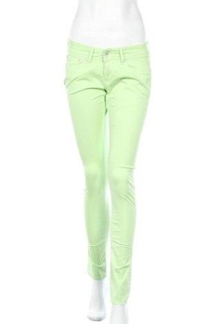Γυναικείο παντελόνι Pepe Jeans, Μέγεθος M, Χρώμα Πράσινο, 99% βαμβάκι, 1% ελαστάνη, Τιμή 30,72€