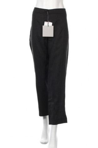 Γυναικείο παντελόνι Persona by Marina Rinaldi, Μέγεθος XL, Χρώμα Μαύρο, Λινό, Τιμή 64,59€