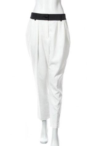 Дамски панталон River Island, Размер M, Цвят Бял, Полиестер, Цена 49,60лв.