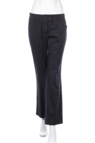 Дамски панталон S.Oliver, Размер S, Цвят Син, 50% полиестер, 49% вискоза, 1% еластан, Цена 18,04лв.