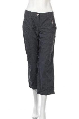 Дамски панталон Street One, Размер M, Цвят Сив, Памук, Цена 18,00лв.