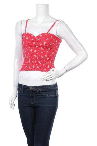 Γυναικείο αμάνικο μπλουζάκι Bik Bok, Μέγεθος M, Χρώμα Κόκκινο, 47% πολυεστέρας, 47% βισκόζη, 6% ελαστάνη, Τιμή 6,20€