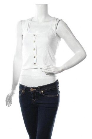 Γυναικείο αμάνικο μπλουζάκι Bik Bok, Μέγεθος S, Χρώμα Λευκό, 95% βαμβάκι, 5% ελαστάνη, Τιμή 6,43€