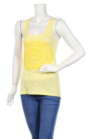 Дамски потник Loap, Размер XS, Цвят Жълт, Памук, Цена 6,24лв.