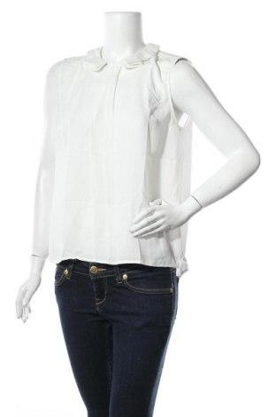 Γυναικείο αμάνικο μπλουζάκι Mint & Berry, Μέγεθος M, Χρώμα Εκρού, Πολυεστέρας, Τιμή 5,76€