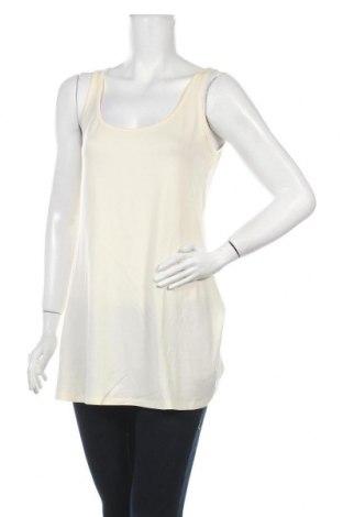 Γυναικείο αμάνικο μπλουζάκι Myrine, Μέγεθος S, Χρώμα Εκρού, Τιμή 8,77€