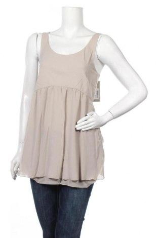 Γυναικείο αμάνικο μπλουζάκι Myrine, Μέγεθος M, Χρώμα Γκρί, Πολυεστέρας, Τιμή 9,28€