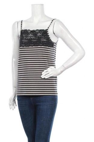 Γυναικείο αμάνικο μπλουζάκι Myrine, Μέγεθος XL, Χρώμα Γκρί, 96% τενσελ, 4% ελαστάνη, Τιμή 7,48€