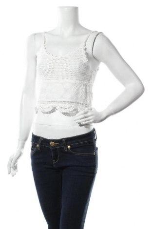 Дамски потник New Look, Размер M, Цвят Бял, 95% памук, 5% полиамид, Цена 12,00лв.