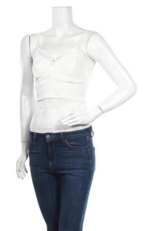 Дамски потник New Look, Размер S, Цвят Бял, 97% полиестер, 3% еластан, Цена 11,50лв.