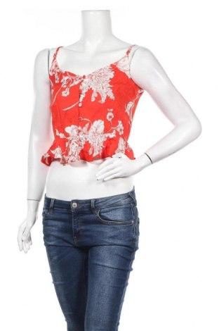 Γυναικείο αμάνικο μπλουζάκι River Island, Μέγεθος XS, Χρώμα Κόκκινο, Πολυεστέρας, Τιμή 5,99€