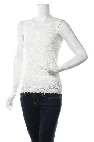 Γυναικείο αμάνικο μπλουζάκι Rosemunde, Μέγεθος S, Χρώμα Εκρού, 50% βαμβάκι, 48% πολυαμίδη, 2% ελαστάνη, Τιμή 26,68€