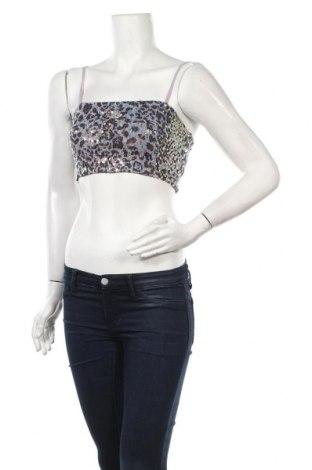 Γυναικείο αμάνικο μπλουζάκι Trendyol, Μέγεθος XS, Χρώμα Πολύχρωμο, Πολυεστέρας, Τιμή 6,43€